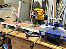 Торцовочная пила б/у для профилей Dewalt DW 704 QS с пилой 300 мм, фото 3