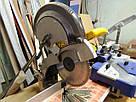 Торцовочная пила б/у для профилей Dewalt DW 704 QS с пилой 300 мм, фото 4