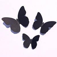 Декоративные 3Д бабочки Набор 3d наклеек Аргус