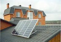 Установка солнечных батарей для автономного энергоснабжения дома 150кв в мес