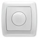 Светорегулятор 600W бел/крем, Viko CARMEN