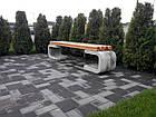 Лавка садово-парковая без спинки URBAN 2, фото 2