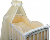 Набор в детскую кроватку Drim бежевый (6 предметов), фото 1