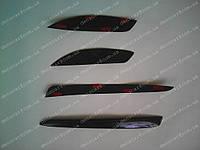 Реснички на фары MITSUBISHI Lancer X (задние)
