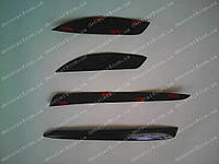Реснички на фары MITSUBISHI Lancer X (задние), фото 1
