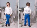 Детские модные брюки 2191 ЕВ