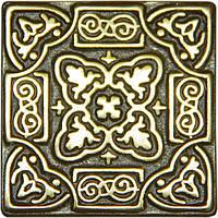 Вставка декоративная бронзовая Persia (5x5)