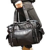 Мужская стильная сумка-тревелбег