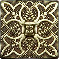 Вставка декоративная бронзовая Zodiac (5x5), фото 1