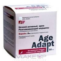 Крем для лица ночной разглаживающий морщины  Age Adapt  Эльфа 50 мл