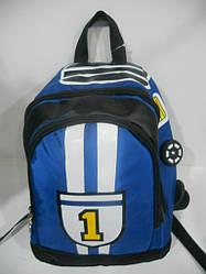 Детский школьный рюкзак для мальчика ранец портфель недорого плотный текстиль оптом 7 км Г1584/2137