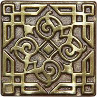 Вставка декоративна бронзова Orient (5x5), фото 1