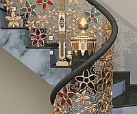 Эксклюзивные лестничные ограждения из латуни