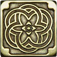 Вставка декоративная бронзовая Kaleidoscope (5x5)