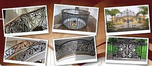 Кованые изделия: ворота, заборы, решетки на окна и другие