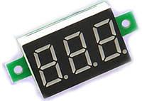 Вольтметр постоянного напряжения 0~100 В КРАСНЫЙ