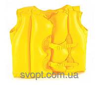 Детский надувной жилет 32072 (51 х 41 см)