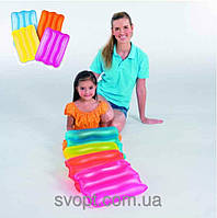 Надувной детский плотик-подушка (38х25х5см) 52127 Bestway