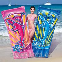 """Пляжный надувной матрас """"Алоха"""" (191х89 см)"""