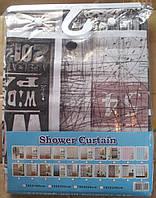 Шторка для ванной комнаты тканевая