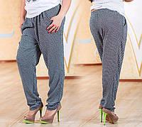 Штапельные брюки больших размеров (50-56 рр)
