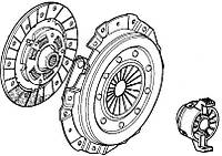Комплект зчеплення Fiat Doblo 1,2 8V (2000-2005)