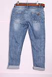 Женские джинсы бойфренды  Red blue большого размера по 40размер, фото 2