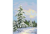 """Схема для вышивки бисером """"Зимняя елка"""""""