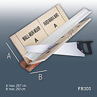 Orac Decor FB300 набор стусло и пила для лепнины из полиуретана | макс. обрабатываемая поверхность: 29,7 см x 29,1 см