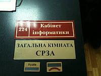 Дверные таблички