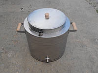 Воскотопка паровая НТЦ 17 л с нержавеющей стали, фото 1