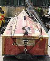 Продам деревянный моторный баркас