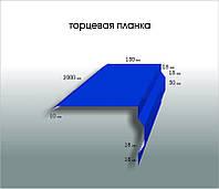 Торцевая планка (250 х2000).Толщина 0,4.Крашеный.