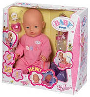 Кукла пупс 8001-2-3-4 Беби борн, трикотажная одежда