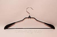 Вешалка черная силикон лопатка 44см