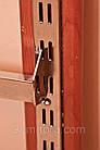 Перемычка пристенная квадратная хромированная, 100 см., фото 5