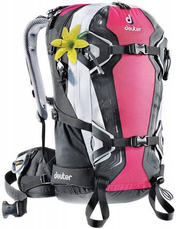 Рюкзак для фрирайда женский Deuter Freerider Pro 28 SL magenta/white (33524 5105)