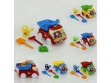 Машина Самосвал №3 с песочным набором Бамсик, 3683