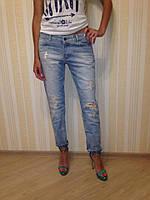 Летние джинсы рваные