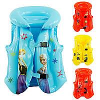 Детский надувной жилет с любимыми героями 466-904 цвета для мальчиков