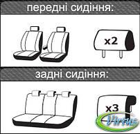 Автомобильные чехлы Виртус Geely SL 2011-2014