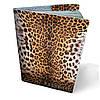 """Кожаная обложка для паспорта """"Леопард"""""""