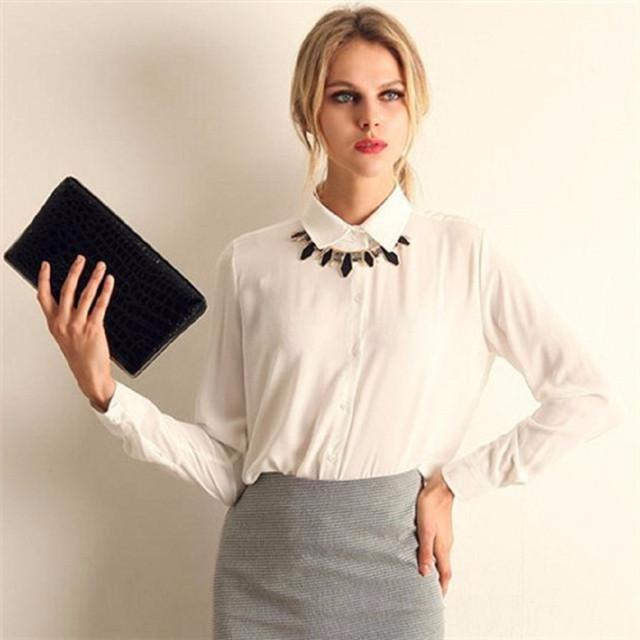 Блузы, рубашки с длинным рукавом