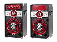 Комплект активных колонок с FM приемником INTEX DJ-601