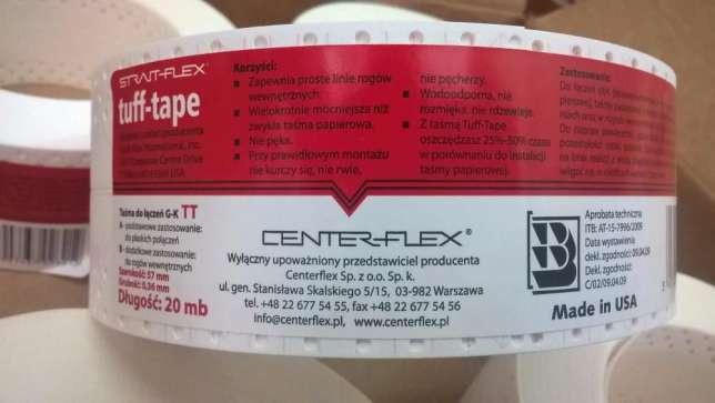 TUFF TAPE - STRAITFLEX универсальная лента для углов и швов 30м