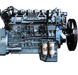 КАТАЛОГ Дизельный двигатель WD615 Евро3