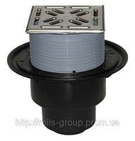HL3100 Трап для внутренних помещений DN50/75/110 с верт. выпуск, Hutterer&Lechner GmbH (Австрия)