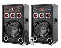Комплект активных колонок с FM приемником INTEX DJ-220K SUF , фото 1