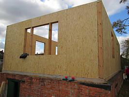Монтаж дома из SIP-панелей 96 м.кв. 2