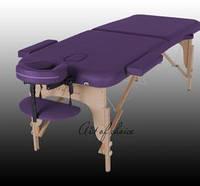 Массажный стол двухсекционный деревянный MIA